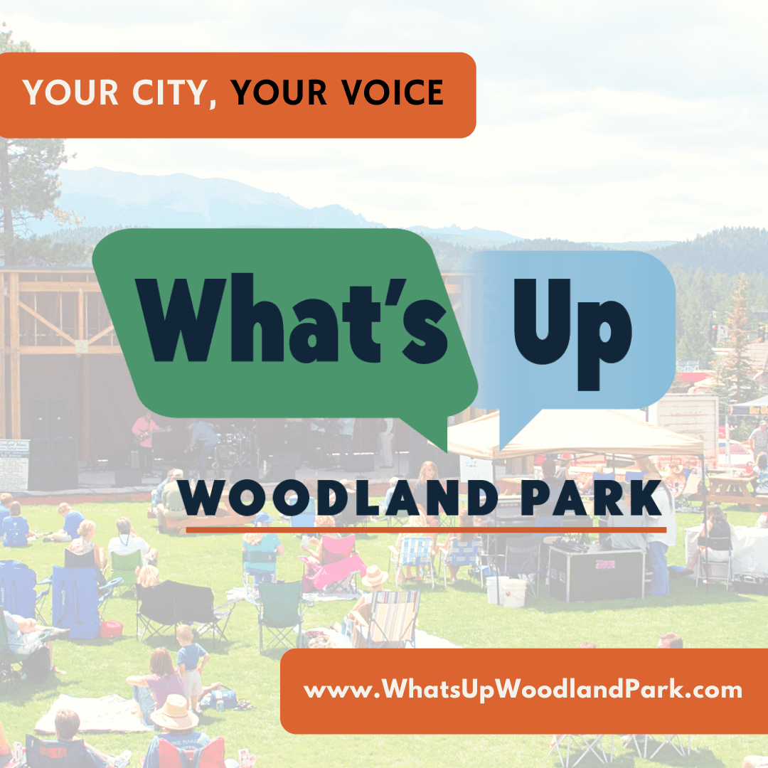 Whats Up Woodland Park Graphic